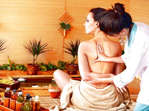 тайский массаж пример работы массажистки №1