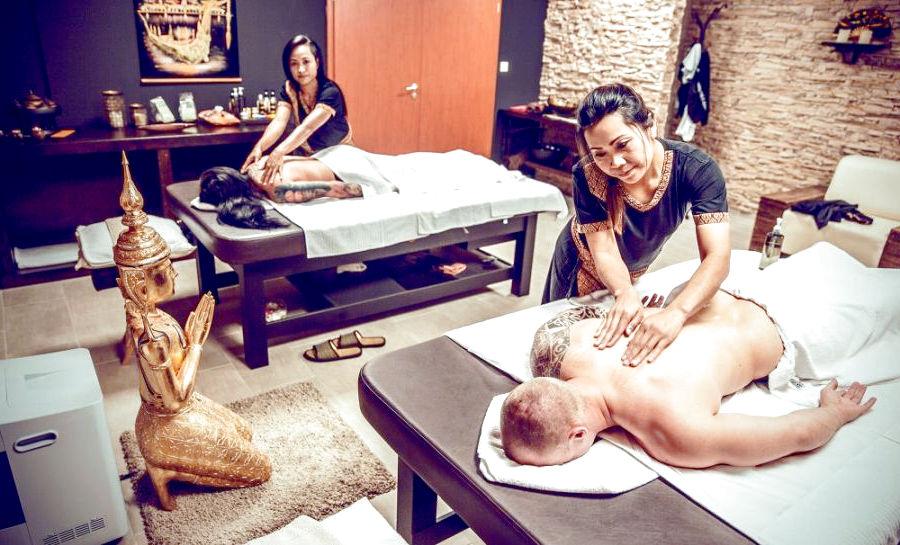 тайский массаж пример работы массажисток из тайланда