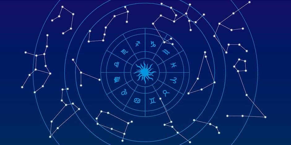 звездное небо и гороскоп