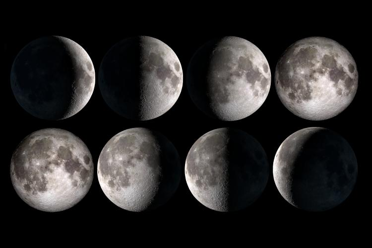 все фазы луны