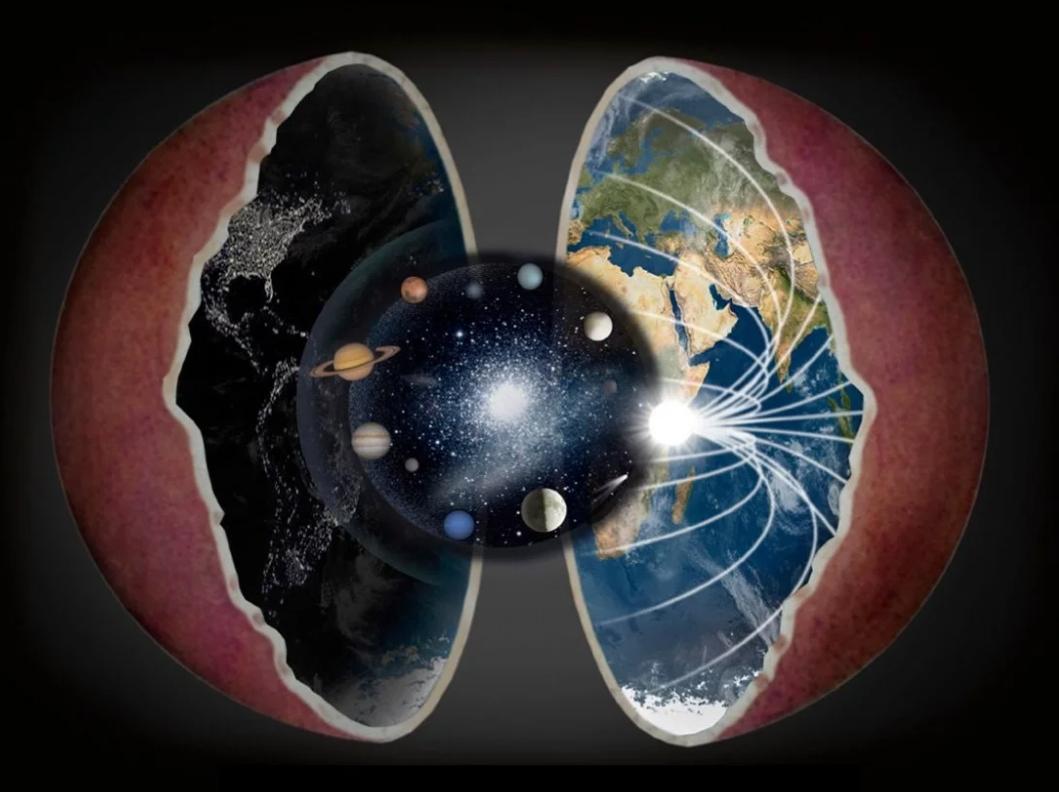 реальное строение планеты Земли